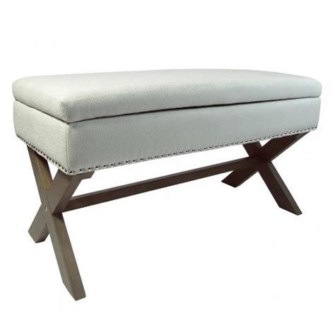wooden legs for ottoman baxey ottoman footstool in grey fabric with x shaped
