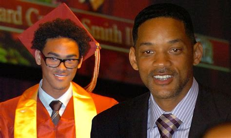 Smith High And On by Will Smith Watches Trey Collect His High School