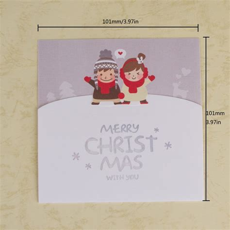 aliexpress com buy merry christmas greeting card 10