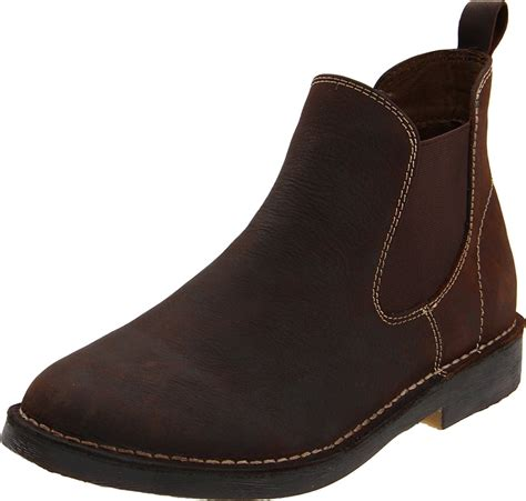 g h bass co mens gaucho ankle boot in brown for lyst