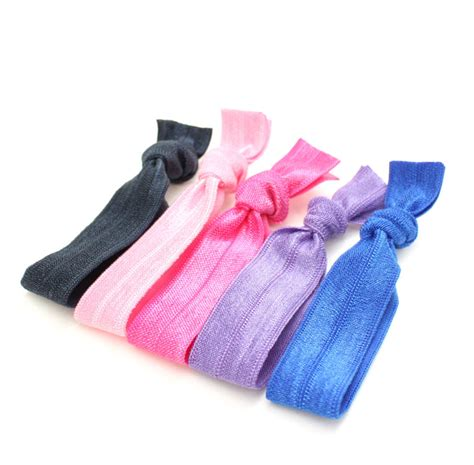 hair ties with no dent hair ties 5 hair tie package by preppypieces