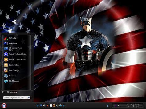 whatsapp themes captain america win7 captain america theme by keybrdcowboy on deviantart