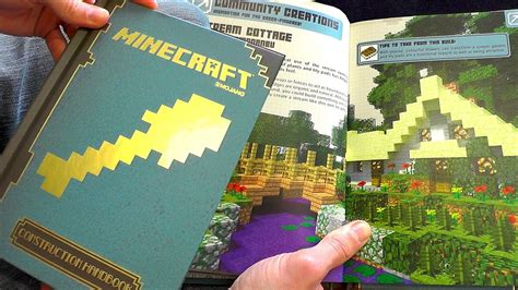 world building guide workbook books minecraft construction handbook guide book review