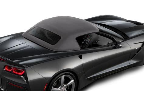 corvette stingray  gm convertible top  colors