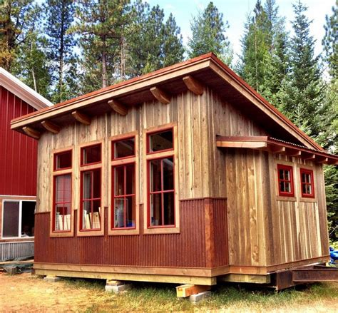 buy tiny house plans buy tiny house kit greenpod s 450 sq ft waterhaus is a