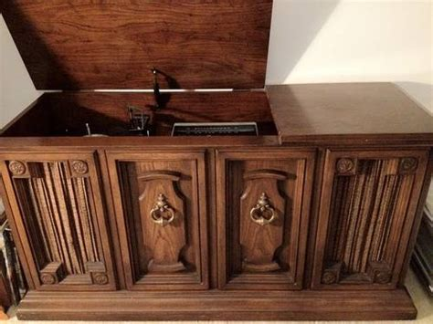 zenith allegro console stereo   elmwood