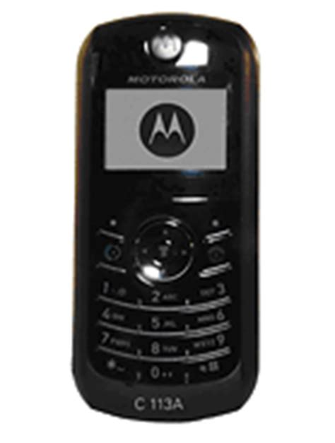 Hp Motorola C113 all motorola phones page 7