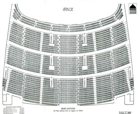 the shrine los angeles seating chart seating at the shrine auditorium and expo los angeles