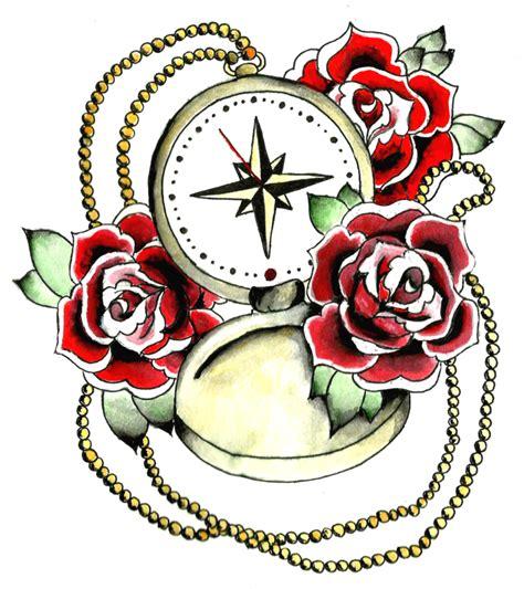 tattoo rosa png compass tattoos