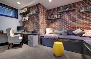 Basement Office Design by Basement Home Office Design And Decorating Tips