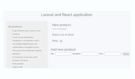 laravel tutorial backend build a react app with a laravel back end part 2 react