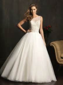 Ball Gown Wedding Dress Dressybridal Allure Wedding Dresses Fall 2013 Collection