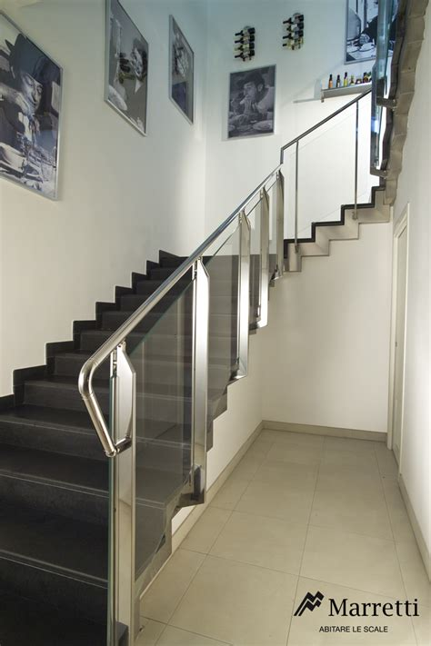 What Is A Banister On A Staircase Marretti Srl Garde Corp En Acier Inox 15 Interieur Externe