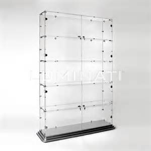 Acrylic Wall Display Cabinet Large Retail Display Cabinet With Locking Front Doors