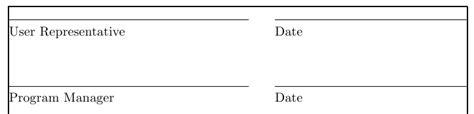 Signature Line Set spacing dynamic signature date line tex stack