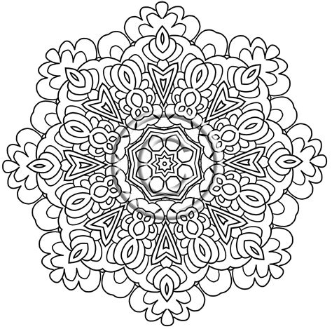intricate floral coloring pages digital download coloring page hand drawn zentangle
