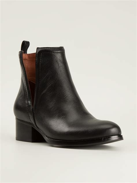 jeffrey cbell ankle boots jeffrey cbell oriley ankle boots in black lyst