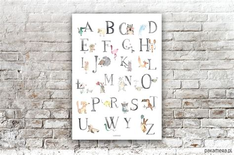 Plakat Alfabet by Plakat Alfabet Pok 243 J Dziecka Obrazy I Plakaty
