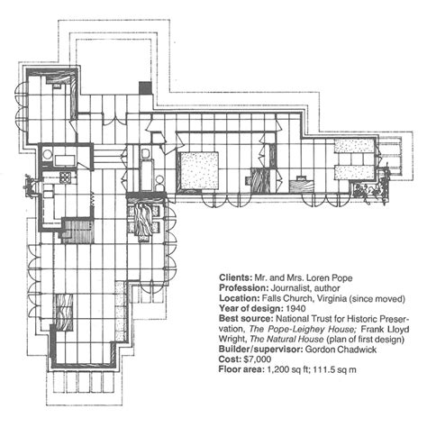 pope leighey house wright chat view topic details on wright s usonian brick wall construction