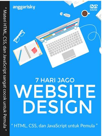 tutorial web design javascript video tutorial 7 hari jago web design html css dan
