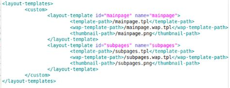 liferay layout template variables notes liferay how to add more than one layout