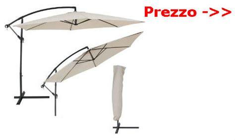 ombrelloni decentrati da giardino awesome ombrellone da terrazzo contemporary amazing