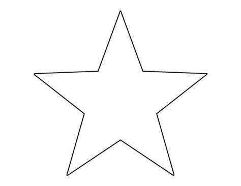 star pattern in c pdf printable full page large star pattern use the pattern
