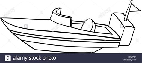 boat cartoon images black and white speed boat silhouette at getdrawings free for