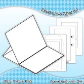 8x8 card box template gift box template commercial use ok 163 3 50