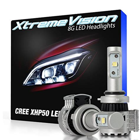 Led Xhp50 xtremevision 174 8g 72w 12 000lm 9006 led headlight