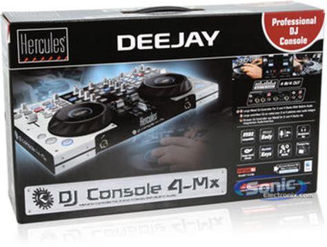 dj console 4 mx hercules dj console 4 mx professional mix station for