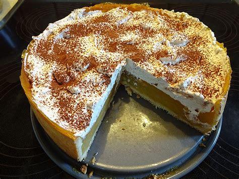 kuchen haube apfelkuchen mit sahne zimt haube rezept mit bild