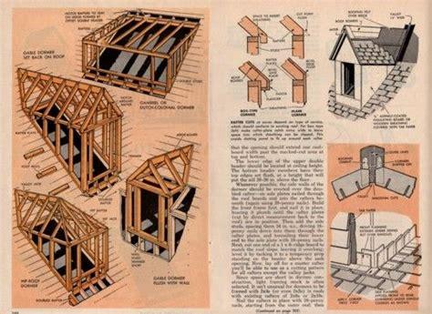 roof dormer plans details    build frame roof