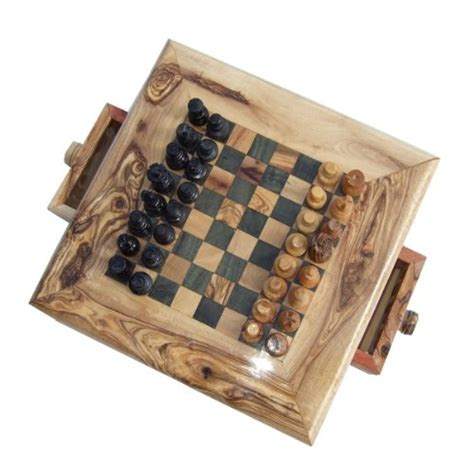 wooden chess sets for sale cheap naturally med olive wood chess set