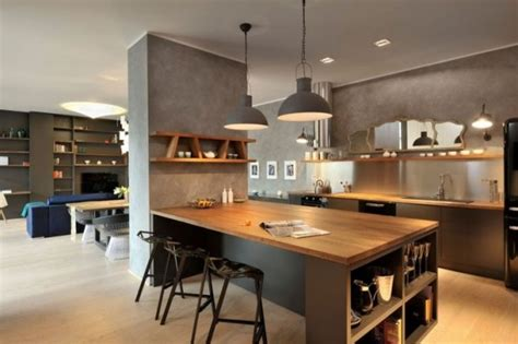 Kitchen Island Tables With Stools by Cuisine Avec 238 Lot Central 43 Id 233 Es Amp Inspirations