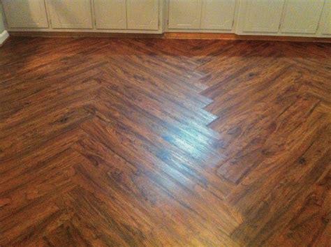 chevron pattern vinyl flooring luxury vinyl plank flooring installed them this weekend