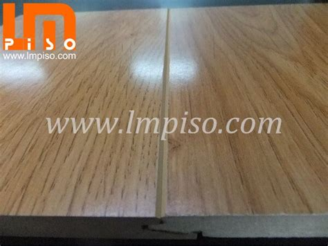 German technology shinning finish teak wood v groove