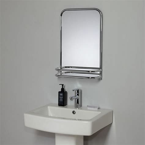 where can i buy bathroom mirrors buy john lewis restoration bathroom wall mirror with shelf