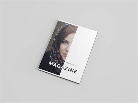 graphic design magazine mockup letter size magazine mockup