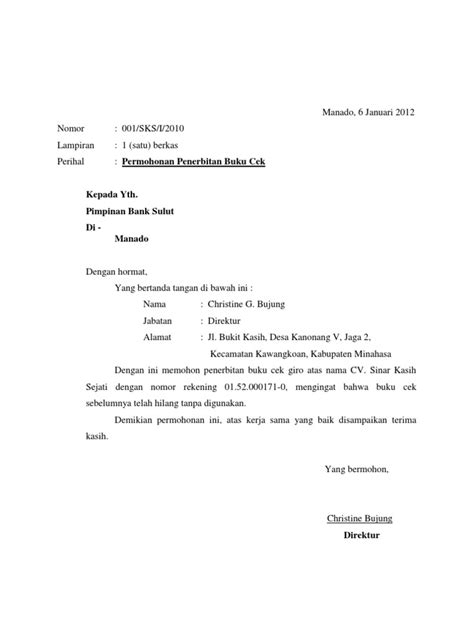 format print alamat di lop surat permohonan