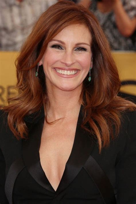 julia roberts red hair with highlights hairstyles for thick hair a list inspo to fight that
