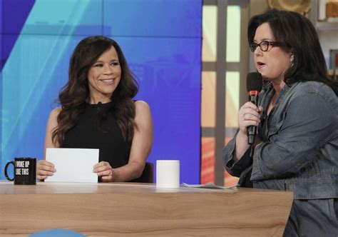 Rosie Odonnell Quit The View Early by Rosie Perez To Leave The View For Buzz