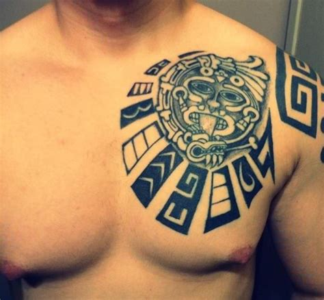 mayan tribal tattoo 12 magnificent mayan tribal tattoos only tribal
