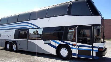 double decker bus for sale 1996 neoplan skyliner double decker bus sales doovi