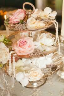 Diy Pearl Chandelier 1000 Ideas About Shabby Chic Centerpieces On Pinterest