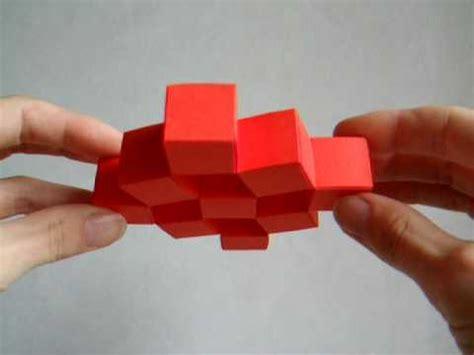 Moving Cubes Origami - diese erstaunliche entdeckung
