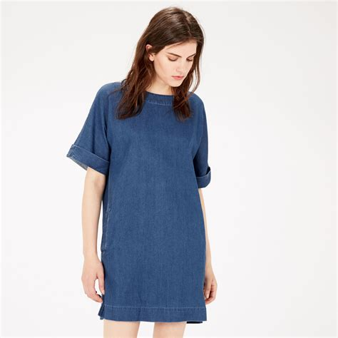 Dress Denim denim shift dress warehouse