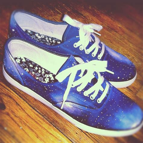 diy galaxy shoes 17 best images about