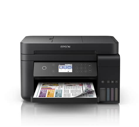 Printer Epson Adf epson l6170 wi fi duplex all in one ink tank printer with