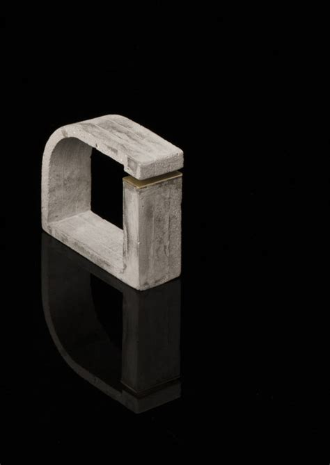 design milk concrete form matters wearable concrete jewelry design milk